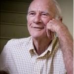 Smiling elderly man.